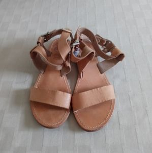 Sol Sana Leather Strappy Sandals